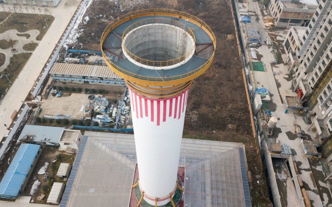 China built a tower that acts like 'the world's biggest air purifier,' and it actually works