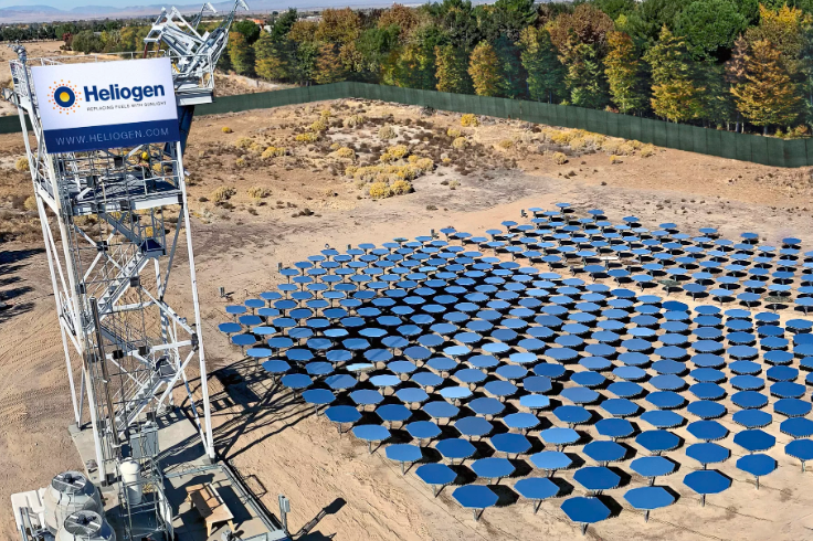 A new solar heat technology could help solve one of the trickiest climate problems