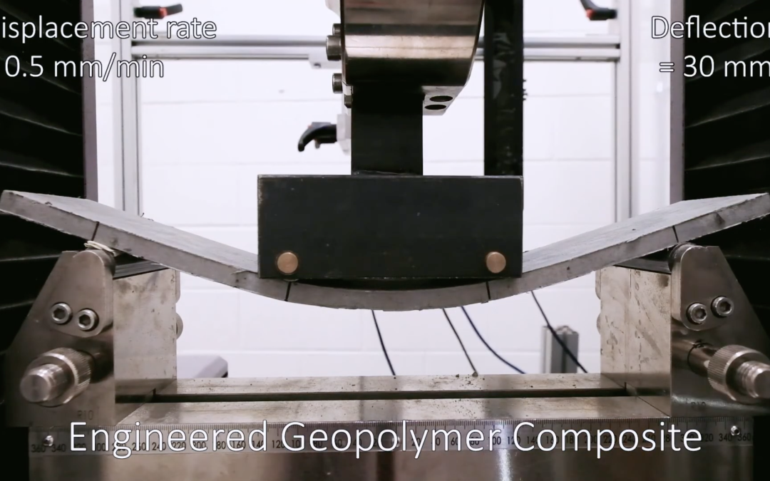 Bendable Concrete Goes Cement-Free to Cut Environmental Footprint